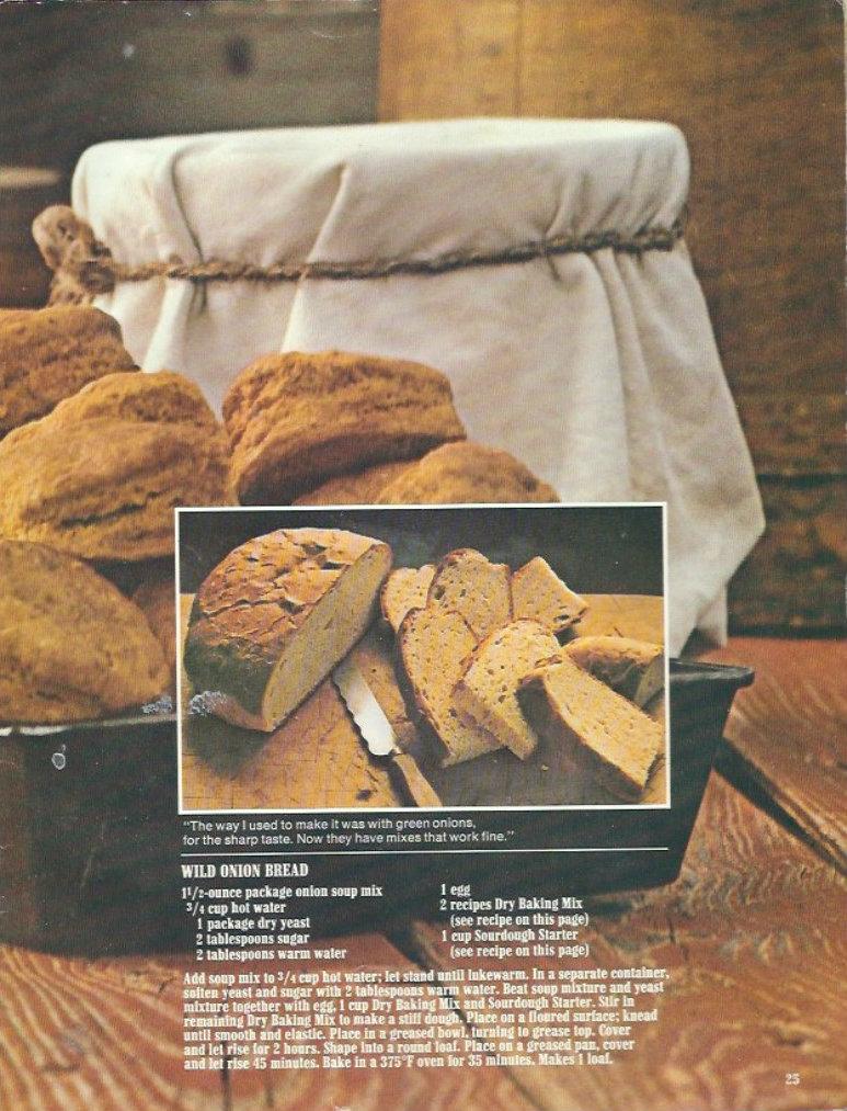 Wild Onion Bread